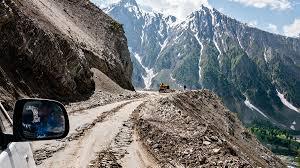 The pass of Zoji (India)